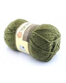 Włóczka Tweed zielony 222