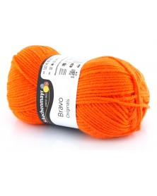 Włóczka Bravo kolor pomarańczowy 8192
