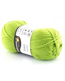 Włóczka Bravo kolor zielony 8194