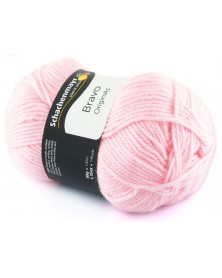 Włóczka Bravo kolor różowy 8206