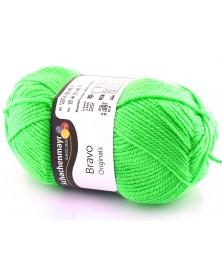 Włóczka Bravo kolor neonowy zielony 8233