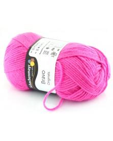 Włóczka Bravo kolor różowy 8305
