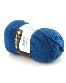 Włóczka Bravo kolor ciemny niebieski 8340