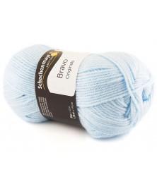 Włóczka Bravo kolor jasny błękitny 8363