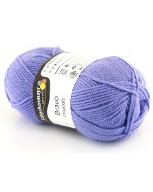 Włóczka Bravo kolor fioletowy 8365
