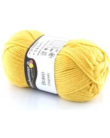 Włóczka Bravo kolor ciemny żółty 8368