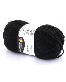 Włóczka Bravo kolor czarny 8370