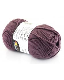 Włóczka Bravo kolor zgaszony fiolet 8377