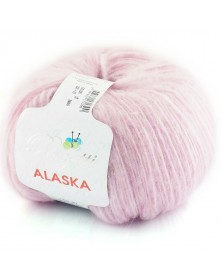 Włóczka Alaska kolor 07 wrzos