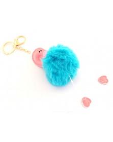 Pompon Flaming niebieski