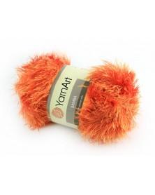 Włóczka Samba kolor pomarańczowy 46