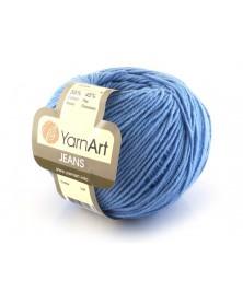 Włoczka Jeans Yarn Art kolor niebieski 15