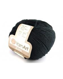 Włoczka Jeans Yarn Art kolor czarny 53