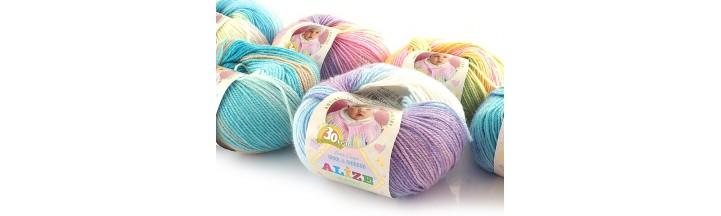 Włóczka Baby Wool Batik Design Alize