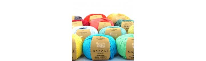 Włóczka Organic Baby Cotton Gazzal