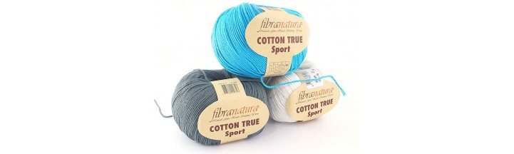 Włóczka Cotton True Sport Fibra Natura