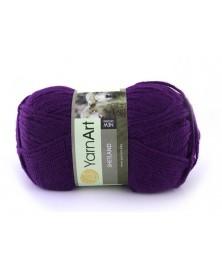 Włóczka Shetland kolor śliwka 512