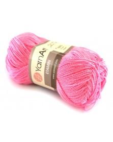 Włóczka Etamin Yarn Art kolor różowy 436