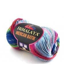 Mercan Batik odcienie niebieskiego- różu 20