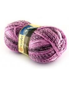 Włóczka Everest kolor 7023 odcienie fioletów