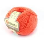 Włoczka Jeans Yarn Art kolor pomarańczowy 61