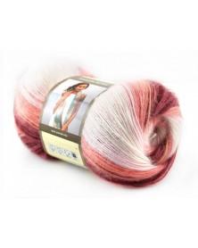 Angora Active kolor 846 odcienie różu i borda