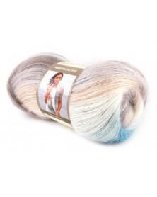 Angora Active kolor 852 odcienie różu, niebieskiego i beżu