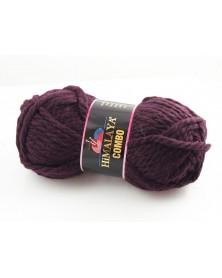 Włóczka Combo kolor ciemny burgund 10