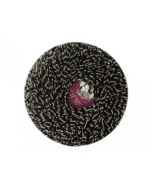 Kordonek Garden Metalic kolor czarny  ze srebrną 702-15