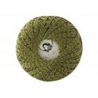 Kordonek Garden Metalic kolor zielony ze srebrną niką 702-07