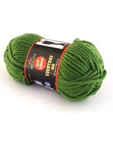 Włóczka Everyday BIG kolor zielony 818