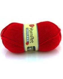 Włóczka Shetland kolor czerwony 507