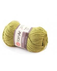 Włóczka Etamin Yarn Art kolor zielony groszek 433