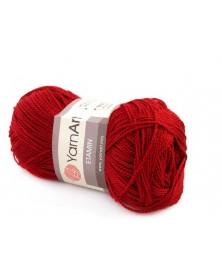 Włóczka Etamin Yarn Art kolor ciemna czerwień 450