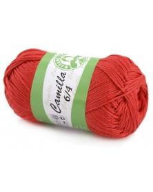 Włóczka Camilla kolor jasny czerwony 5319