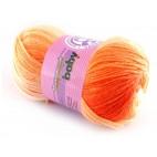 Włóczka Sweet Baby 312 ecru z odcieniami pomaranczowego