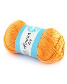 Almina Madame Tricote kolor pastelowy pomarańcz 4912