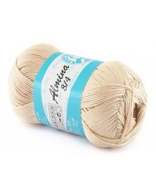 Almina Madame Tricote kolor beżowy 5309