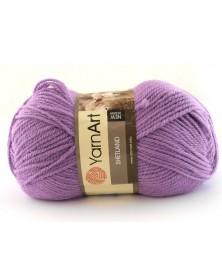 Włóczka Shetland kolor fiolet 514