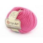 Włoczka Jeans Yarn Art kolor różowy intensywny 42