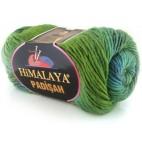 Włóczka Padisah kolor 04 zieleń-morski-turkus