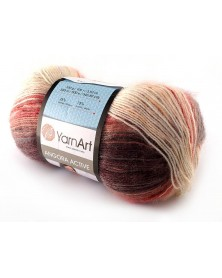 Angora Active kolor 851 odcienie beżu, rudości i brązu
