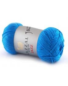 Włóczka Jazz kolor 648 ciemny niebieski