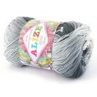 Włóczka Miss Batik kolor 3722 odcienie szarości