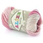 Bella Batik kolor 5512 ecru, róż z dodatkiem szarego