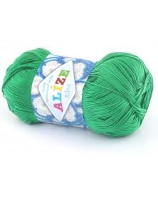 Włóczka Miss kolor zielony 123