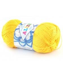 Włóczka Miss kolor żółty 216