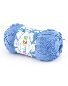 Włóczka Miss kolor niebieski 303