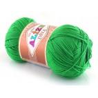 Włóczka Diva kolor zielony 123