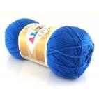 Włóczka Diva kolor  niebieski 132